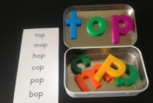 School:literacy and word work / by Katie Rope