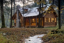 Casette-Houses-Log Cabin-Baite-Cottages-Garden Shed-Farm Life-Abandoned-Mills-Etc.Etc. / by Pat Zardi