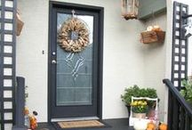 Entryway Decorations / Make a lasting first impression.