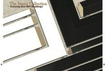 Basics Collection / Various profiles of MDF moulding wrapped in PVC.  Scratch resistant!!
