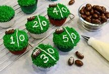 Halftime Huddle / Game day food #recipes for grazing at parties, tailgates and other football-themed events!