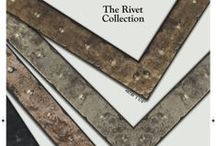 Rivet Collection / Industrial inspired mouldings available now!
