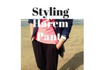 How To Wear Harem Pants / Wondering how to wear Harem Pants? They aren't just lounge wear and can be worn even on a night out! Wear them with heels, sandals or slippers...they're a must have addition to your wardrobe for year-round wear.
