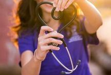 Busting Mine to Save Yours / Final year nursing student. Bring on the NCLEX! / by Samantha Pruitt