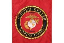 USMC Flags / Don't forget to go to eMarinePX.com for all your USMC needs!