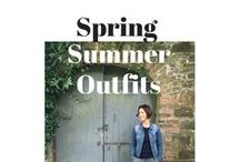 Spring & Summer Outfit Inspiration / Style inspiration for the school run from School Gate Style - this is what I've been wearing during Spring & Summer