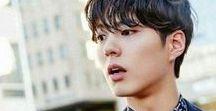 aktorzy / Tablica jest o koreańskich aktorach