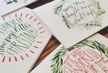 CHRISTMAS CARDS ✉️❄️