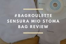 Stoma bags and other accessories / Stoma bag reviews.  Emergency stoma kits. How to sleep with a stoma. What products I have tested and reviewed