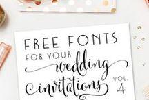 {Designs I Love} / pretty letters and pretty designs