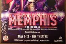 Past Shows - MEMPHIS (2011-2012 Season) / Turn up that dial! MEMPHIS plays the Fabulous Fox Theatre May 1-13. Hockadoo!