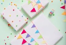 Cards & Gift Wrap / Why spend a lot on cards from the store when DIY version can be so much more special!?!  Make your gift extra special with creative gift wrap ideas. Adorable ideas that are super simple!