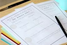 {Printables to Love} / better replace my printer's ink