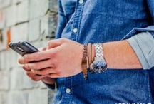 Men's Bracelets by Urban Male / Urban Male's range of fashionable bracelet designs for men, perfect to add the ultimate accessory to match your look. Feel free to re-pin pictures to your own style boards.