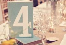 Número de mesas / Para numerar las mesas de una manera diferente y bella