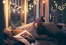 ♡ // HAPPY // COSY // WHIMSICAL // ♡ / Comfy places, snuggle places, all things comfortable :)