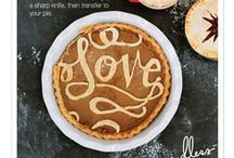 FOOD! Holiday Style / It's our favorite food time of the year. Yummy comfort foods with beautiful twist. Bon Appetit!