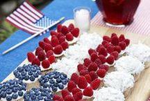 America-Themed 21st Birthday Party
