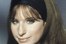 Barbra Streisand / Barbra Streisand, age 71, DOB 4-24-42.  She is an actress, singer song writer, film producer director, author and writer. / by Josie Conde