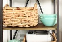 Storage Solutions / Creative storage solutions for every room of the house!