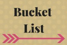 "Bucket List / ""A goal is a dream with a deadline."" ~Napoleon Hill #BucketList #LifeGoals / by Lori Hil"