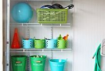 Garage Space / Ideas to clean and organize your garage!