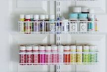 Craft Room / Beautifully decorated craft rooms that are completely organized!