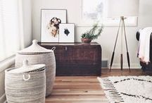 Bedrooms / Creative ideas to find storage and organize your bedroom!