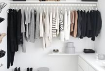 Closets / Making the most use out of any and all closet space with these fun tutorials and smart tricks!