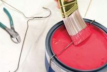 "Home Ownership / Taking the stress out of moving with these great tips!  Making home painting projects EASIER, including lots of ""why didn't I think of that???"""