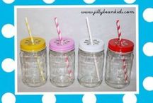 Mason Jars / Love everything about mason jars. Simply timeless.