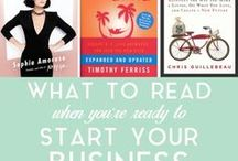 {Biz Books to Read} / When I'm looking for a little more inspiration!