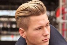 The Ultimate Men's Haircut Style Board / A board full of inspiration for your new hair look for this year, keep on trend in all that is hair styling with our board for men.