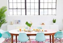 Color Inspiration / Pops of beautiful color in the home, crafts and fashion.