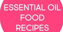 essential oil food recipes / Recipes and ideas for cooking with essential oils.  Sweet and savory, desserts, appetizers, snacks, drinks, and more.  Tons of oil infused treats!  Check out my blog for more ideas: mychocolatemoments.com