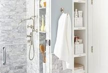 Bathroom / Storage and organizing tips for the bathroom
