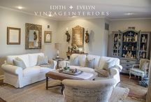 Design | Beautiful Rooms / Just beautiful, inspiring rooms. / by Cindy | Edith & Evelyn Vintage