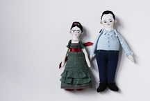 Handmade dolls and softies. / by malu
