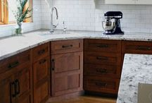 Dream Kitchen / In my dreams, I will have a colorful kitchen / by Hilary Browning