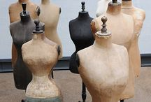 Antiques | Mannequins / by Cindy | Edith & Evelyn Vintage