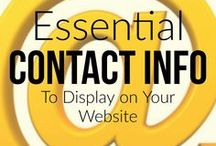 Website Design Tips / Infographics and other interesting tips for designing a professional website. Brought to you by BloggingBistro.com.