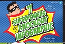 Infographics About Infographics / Infographics about infographics (yes, it's true), brought to you by BloggingBistro.com.