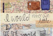 see the world. / by Jenny Elliott