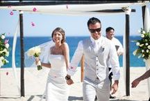 Beach Wedding / A beach wedding doesn't have to be plain, just relaxed and full of love.