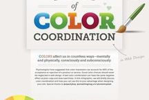 Color Psychology / The psychology of color plays a huge role in determining the perfect color palette to showcase your brand and the tools you use to promote your brand: logo, website, business cards brochures.