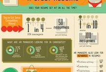 Resumes on Pinterest / Examples of creatively-designed resumes that people post to Pinterest. #resumes