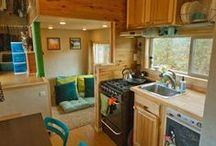 tiny homes / Wee little dwellings and cool spaces.