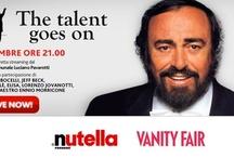 Luciano Pavarotti / Modena – 6 Settembre 2012, ore 21.00 Luciano's Friends The talent goes on I grandi della musica pop e della lirica accanto alle giovani promesse dell'opera, insieme per una serata unica