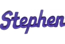 ♥Stephen♥ / Stephen is my oldest son. A quiet, sincere person who is very unique. He is an extremely talented artist, draws amazing! He loves movies, sleeping, cooking. Has children who he loves alot. He has a great sense of humor and loves anything funny. a great storyteller as well. I love him so much! / by Lisa Siler
