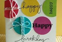 Cards - Birthday / by Debra Kraner